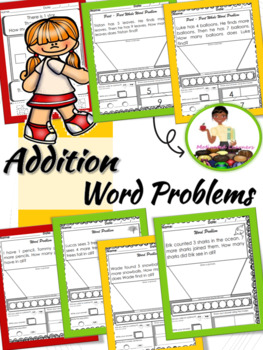 Addition & Subtraction Word Problems (Numbers 1-10)