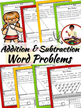 Addition & Subtraction Word Problems (Numbers 1-20)