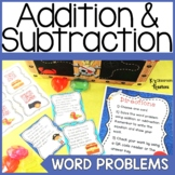 Pirate Addition and Subtraction Word Problems