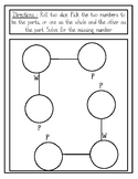 Addition & Subtraction Worksheets (Part - Part - Whole)