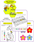 Addition, Subtraction and Multiplication Worksheets