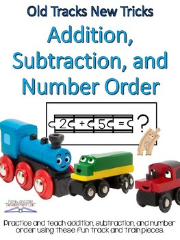 Addition, Subtraction, and Number Order Puzzles using Trai