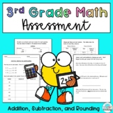 Addition, Subtraction, and Rounding Assessment