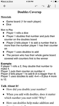 Addition, Subtraction and Rounding Games