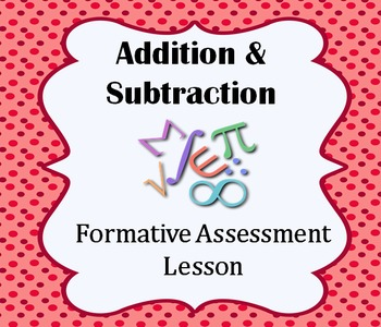 Addition & Subtraction in a Problem Solving Situation: A S