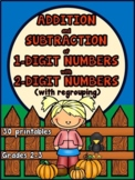 Adding and Subtracting within 100 {Fall}
