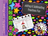 Addition & Subtraction of Fraction Engaging Lesson; Fun Activity