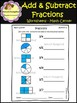 Addition & Subtraction of Fractions / Worksheets (School Designhcf)