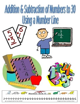 Addition & Subtraction of Numbers to 30 Using a Number Line