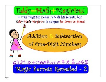 Addition & Subtraction of 1 Digit Numbers: Test Quiz Prep Worksheets