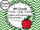 Addition/Subtraction of Whole Numbers