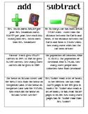 Addition/Subtraction question sort