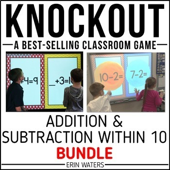 Addition & Subtraction to 10 Game [Regular + Extensions KNOCKOUT Bundle]