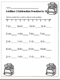 Addition & Subtraction to 10 NO PREP