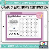 Addition & Subtraction to 1000 Grade 3 2020 Ontario Math-