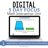 Addition & Subtraction to 20 | 2nd Grade Digital Distance