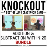 Addition & Subtraction to 20 Game [Regular + Extensions KNOCKOUT Bundle]