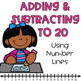 Addition & Subtraction to 20 Using a Number Line