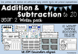 Addition & Subtraction to 20  Winter Pack UK Curriculum 2014