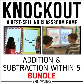 Addition & Subtraction to 5 Game [Regular + Extensions KNOCKOUT Bundle]