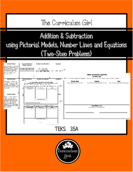 Addition & Subtraction using Models (Two-Step) (3.5A, 3.NBT.2)