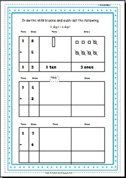 Addition & Subtraction using Place Value Strategies - Set of 2 workbooks