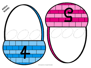 Addition & Subtraction Bunnies, Chicks, & Eggs