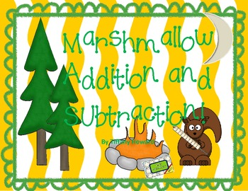 Addition Subtraction with Regrouping - Marshmallow Game
