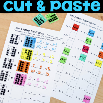 Addition & Subtraction within 20 (Make 10, Add 10, Use 10)