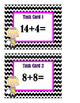 Addition Sums 12 to 20 Task Cards - Set 2