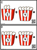 Addition Sums To 10 (Popcorn)  QR Code Ready