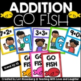 Addition Sums to 10 Go Fish