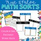 Addition Sums to 20 Center: True False Sort It Math Activity