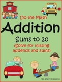 Addition Sums to 20