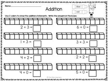 Addition Sums to 9 Bingo Dauber Math