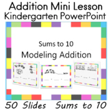 Addition Sums to Ten PowerPoint