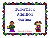 Addition Super Hero Games