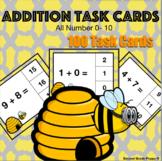 Addition Task Cards 0-10