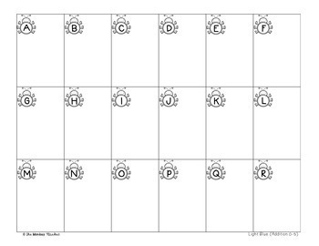 Addition Task Cards Sums to 10