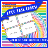 Addition Task Cards, Add 10 to 2-Digit Numbers, 1.NBT.5 Adding 10