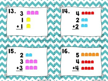 Addition Task Cards SCOOT BUNDLE Domino, Doubles, 3 Addend, Word Problems