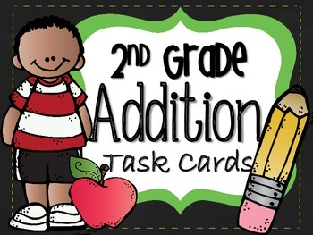 Addition Task Cards-CCSS
