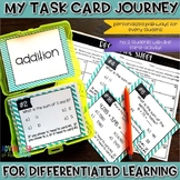 Addition Task Cards Differentiated