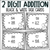 Addition Task Cards - Double Digit WITH Regrouping