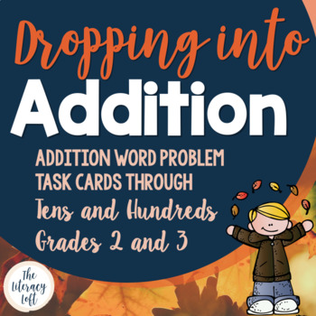 Addition Task Cards {Fall-Themed}