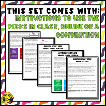 Addition Task Cards Grades 4-5