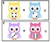 Addition Task Cards -Owls