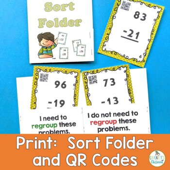 Addition Task Cards; Sort, Solve and Check