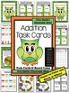 Addition Task Cards, Recording Sheet and Board Game - Owl Themed