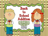 Back to School Addition  CCSS 2.OA.1